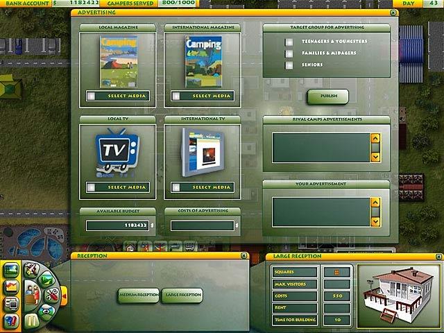 Youda Camper Screenshot