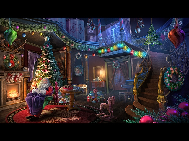 Yuletide Legends: Who Framed Santa Claus Collector's Edition Screenshot