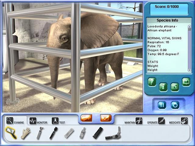 Zoo Vet 2: Endangered Animals Screenshot